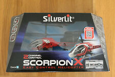 Silverlit Scorpion X Toy Helicopter New Unopened