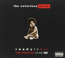 THE NOTORIOUS B.I.G. BIG: READY TO DIE REMASTERED DELUXE CD+DVD SEALED
