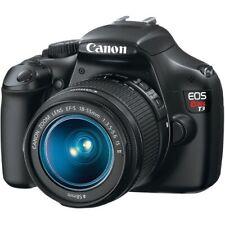 Canon Eos Rebel T3i 18.0Mp Digital Slr Camera - Black (Kit with Ef-S 18-55mm.