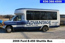 2006 Ford E-450 350 Shuttle Bus Limo Party Buses Rv V10 Used