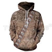 Brand New Adidas Star Wars Wookie Jacket Chewbacca style