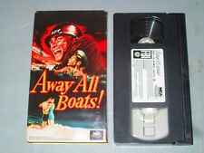 Away All Boats (Vhs) Jeff Chandler, George Nader Tested