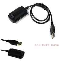 USB 2.0 to IDE SATA Converter Adapter Cable for 2.5 3.5 Hard Drive Disk HDD RS