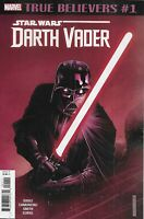 Star Wars Comic 1 Darth Vader True Believers Reprint 2019 Soule Camuncoli Marvel
