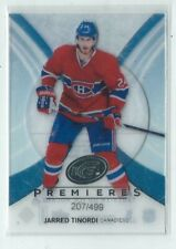 Jarred Tinordi 2013/14 Upper Deck Ice Premiers Card #94 207/499