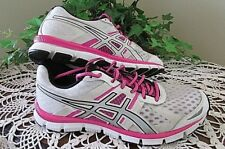Asics Gel-Blur 33  Hot Pink/Black/White silver Shoe Womens Size 9 athletic