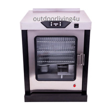 Electric smoker - Add on component to separate outdoor kitchen