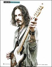 Richie Kotzen (The Winery Dogs, Poison) Fender Telecaster guitar 8 x 11 pinup 2b