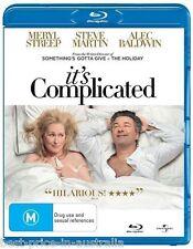 It's Complicated BLU-RAY Meryl Streep Steve Martin Alec Baldwin BRAND NEW Reg. B