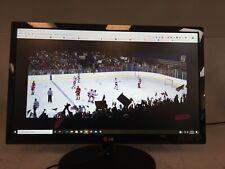 "LG 22"" Flatron 22EA53T-P Widescreen LED Backlit LCD Monitor w VGA Grade B Tested"