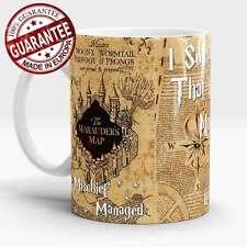 Harry Potter mug Marauders Map Mischief  Managed Hogwarts