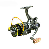 YUMOSHI 5.2: 1 10+1 BB Fishing reel Front and Rear Drag reels Spinning whe B6F6)
