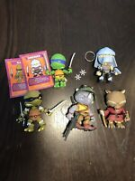 LOYAL SUBJECTS TMNT TEENAGE MUTANT NINJA TURTLES WAVE 1 2 Shredder Lot of 5 Leo