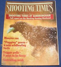 SHOOTING TIMES MAGAZINE MAY 5-11 1988 - MONSTER ROE