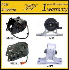 4 PCS MOTOR & TRANS MOUNT FOR 2002-2004 Nissan Altima 3.5L - w/ Sensors - Auto