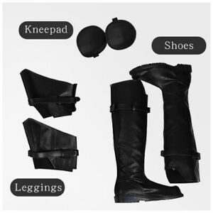 Final Fantasy VII Cosplay Boots Sephiroth Cosplay shoes Halloween Boots for Men