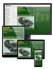 Volvo S40 and V40 Petrol (1996-Mar 2004) N to 04 Haynes Online Manual
