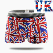 """Men's Sexy Union Jack Print Boxers **To Fit 32""""- 40""""**UK Seller**"""