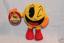 """NEW WITH TAGS  PAC-MAN 7"""" PLUSH NAMCO 25TH ANNIVERSARY"""