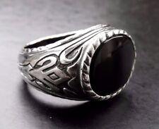 Echte Edelstein-Ringe aus Sterlingsilber mit Karneol für Herren