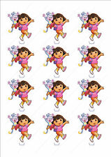 Novelty Dora The Explorer Stand Up Fairy Cake Cupcake Topper Edible Birthday Fun