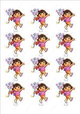 Novelty Dora The Explorer Stand Up Fairy Cake Cupcake Topper Edible Birthday Fun
