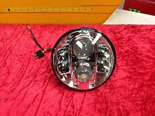 "97-13 Harley Touring Street Ultra Glide 7"" LED Daymaker Style Head Light Lamp"