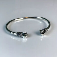 New, King Baby Studio Thin Star Cuff. Sterling Silver Bracelet Wire Crown Bangle