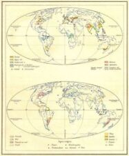 Antique World Atlas 1920-1929 Date Range