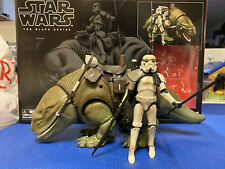 Star Wars Black Series 6? Dewback & Stormtrooper Loose with Box