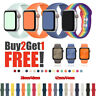 38/42/40/44mm Silicone Sport Band iWatch Strap for Apple Watch Series 6 SE 5 4 3