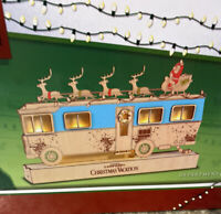 "DEPT 56 NATIONAL LAMPOON Christmas Vacation Lighted COUSIN EDDIE'S RV Wood 13"" L"