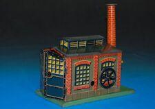 BING Nürnberg * Maschinen Kesselhaus mit Uhrwerkantrieb * Blech litho. * um 1910
