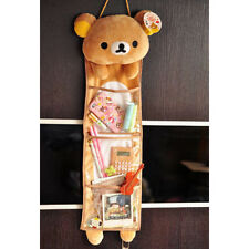 Anime Rilakkuma Bear San-X Wall Hanging Storage Bag 3 Pockets Free Shipping 1PCS