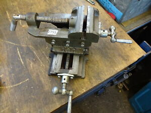 """Drilling milling cross vice 4"""" jaw"""