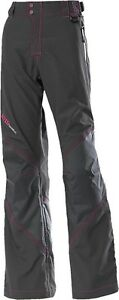 NOS DIVA SNOW GEAR 462-1080XS WATERPROOF SNOW PANTS CHARCOAL PINK SIZE WOMENS XS