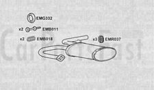 EXHAUST SILENCER to fit NISSAN X-TRAIL (T30) 2.2 dCi 4x4 2003-12-> 2013-01