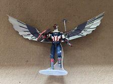 Marvel Legends Falcon Captain America Disney + BAF Complete