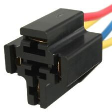4 PIN CLOSED RELAY PRE WIRED SOCKET HOLDER BASE 12V DC 20 30 40 AMP x 10