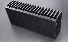 Disipador térmico de aluminio para amplificador de potencia para LM3886 Amp 155x40x68mm Negro