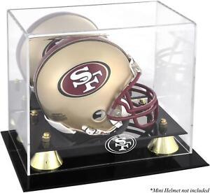 49ers Mini Helmet Display Case - Fanatics
