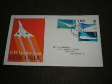 1969 GB Stamps CONCORDE First Day Cover FILTON BRISTOL Cancel FDC V/G CONDITION