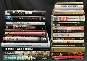 Job Lot Collection Of 30 Military History Reference Biography Books JL16