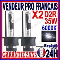 2 AMPOULES D2R AU XENON 35W KIT HID 12V LAMPE RECHANGE D ORIGINE FEU PHARE 6000K