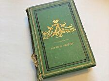 KING ARTHUR  Lord Lytton  1871 Revised Edition  Gilt HB Illus rare  KING ARTHUR
