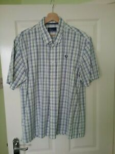 FRED PERRY MENS XL SHORT SLEEVE SHIRT