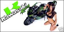 Kawasaki Banner, Monster Energy Bike Flag Sign 2'x4'