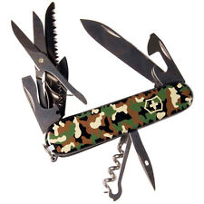 Victorinox Swiss Army Huntsman Camouflage 91mm 53500  **NEW in Box**