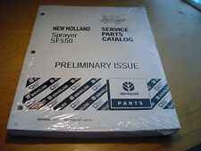 New Holland Sf550 Sprayer Service Parts Manual Catalog