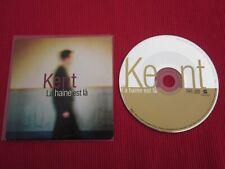CD SINGLE PROMO KENT LA HAINE EST LA 1996